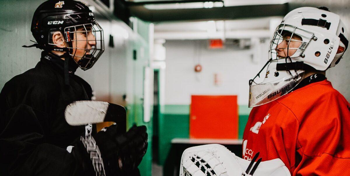 Image joueurs de hockey