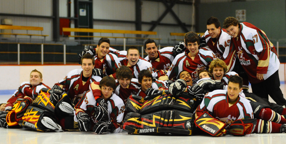 Photo équipe hockey