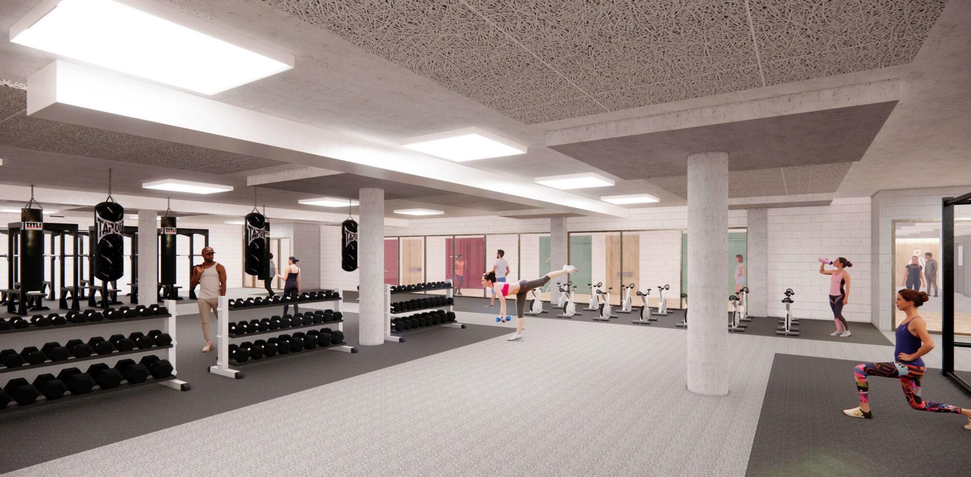 Image salle d'entrainement