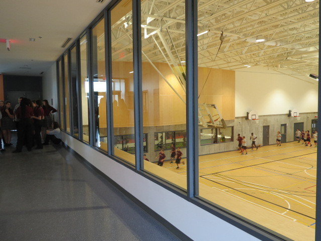 Image vitrine gymnase