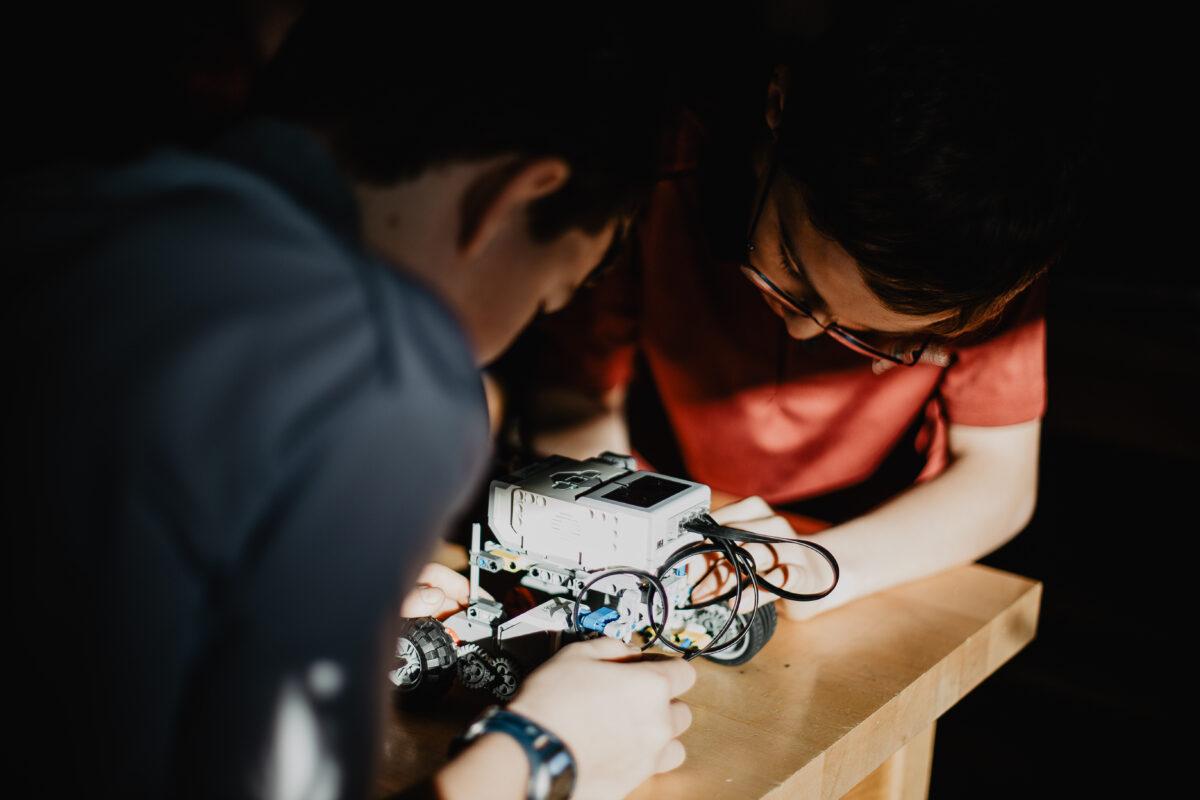 Photo programme robotique